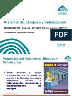 Aislamiento, Bloqueo y Señalizacion (v.2012)