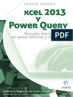 Volumen 3. Excel 2013 y Power Query