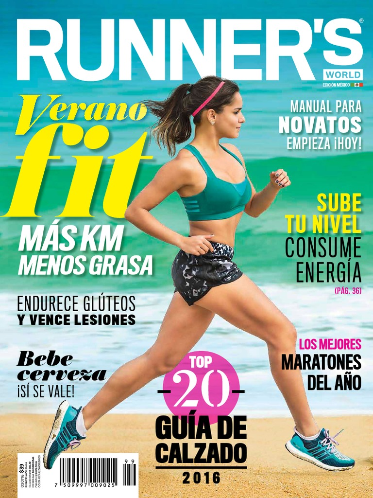 5486138f37 Runner's World Mexico - Junio 2016