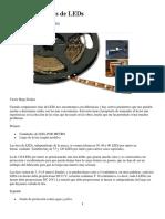 El uso de las tiras de LEDs.pdf