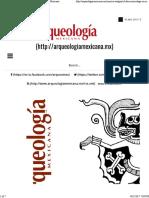 El Dios Murciélago en Mesoamérica _ Arqueología Mexicana