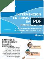 EXPO 1 - Intervencion en Crisis en Salas de Emergencia