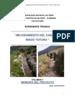 expediente tecnico mejoramiento del canal de riego totora.pdf