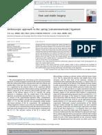 FASJ - 2017 - Lui - Arthroscopic Approach to Spring-Calcaneonavicular- Lig