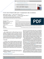 FASJ - 2017 - Zwiers - Rare Causeof Lateral Ankle Pain - Symptomatic Talus Secundarius - Case Report