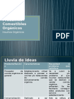 Productos Comestibles Orgánicos (Completo)
