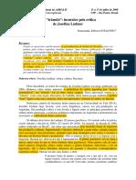 Incursões Pela Crítica de Josefina Ludmer