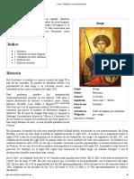 Jorge - Wikipedia, La Enciclopedia Libre