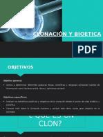 Clonacion y La Bioetica