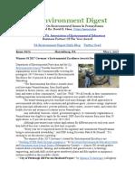 Pa Environment Digest May 1, 2017