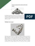 Descripción de Los Componentes Externos Del Motor