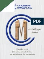 Catalogo Cajoneras Monago