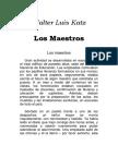Katz, Walter Luis - Los Maestros