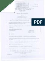 BIOLOGY - CSEC Paper 1 General Proficiency - June 2001