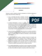 Versión Borrador Propuesta de Reforma - Abril 28