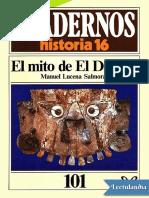 El Mito de El Dorado - Manuel Lucena Salmoral