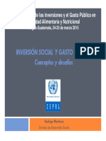 Inversion Social y Gasto Publico