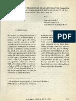 Caracterizacion Preliminar Del Pasto Clavel en Dos Tipos de Suelo Zona Central Del V