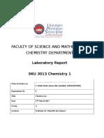 SKU3013 Lab Report Charles Law