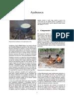 Ayahuasca Información Básica