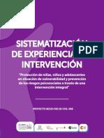 Ejemplos de Sistematización Experiencias