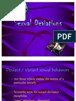 Sexual Deviations