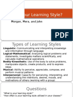group 9 what is your learning style final 2