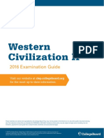 CLEP ExamGuide WesternCiv II