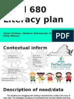 read 680 literacy plan