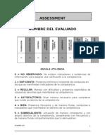 Ejemplo de Reporte de Assessment 2