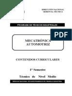 Mecatronica Automotriz 1° semestre