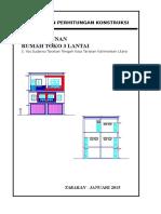 Perhitungan Struktur Bangunan 3 Lantai