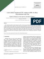 Laser surface engineered TiC coating on 6061.pdf