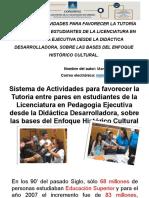 SISTEMA DE ACTIVIDADES PARA FAVORECER LA TUTORÍA ENTRE PARES EN ESTUDIANTES DE LA LICENCIATURA EN PEDAGOGÍA EJECUTIVA DESDE LA DIDÁCTICA DESARROLLADORA