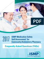FAQs 2017 ISMP Community-Ambulatory Pharmacy Self Assessment