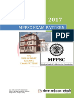 MPPSC Preliminary and Mains Syllabus 2017