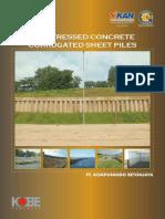 Sheet Piles PT ANDALAN GLOBALINDO