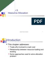 Ch09 Resource Allocation Crashcost