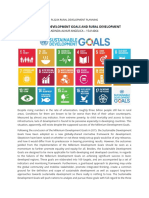 Rural Planning and SDGs