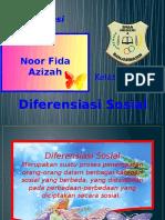 Diferensiasi Sosial Fida 11