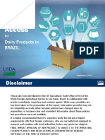 Market Access Dairy Products in BRAZIL