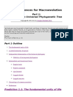 The Unique Universal Phylogenetic Tree