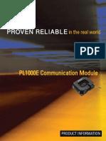 PL1000E Communication Module