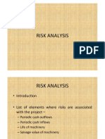 Risk Analysis Session 2