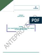 Microsoft Word - NOR-LOG-XXX _Uso y mantenimiento de vehículos del PA de CADAFE_ CP
