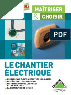 Le Chantier Electriquepdf électricité Courant électrique