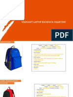 Wildcraft Laptop Backpack Collections