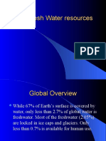 1. Water as Resource