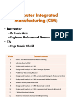 Lec 1 Intro CIM