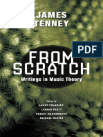 Writings in Music Theory by James Tenney